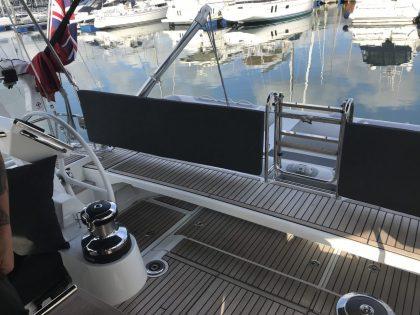 Beneteau Oceanis 55.1 Helm Back Rest Cushions view 3