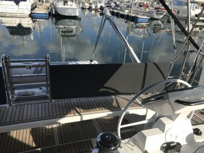 Beneteau Oceanis 55.1 Helm Back Rest Cushions view 1
