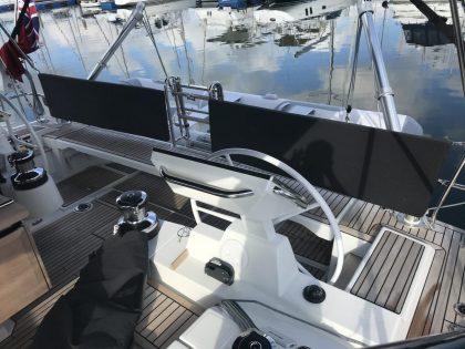 Beneteau Oceanis 55.1 Helm Back Rest Cushions view 2