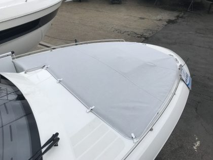 Greenline NEO (Bowrider) Foredeck Tonneau Cover right side view 2