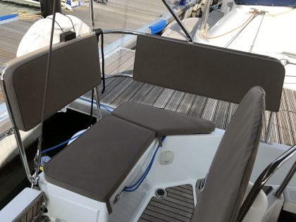 Jeanneau Sun Odyssey 440 Helm Seat Cushions and Backrests