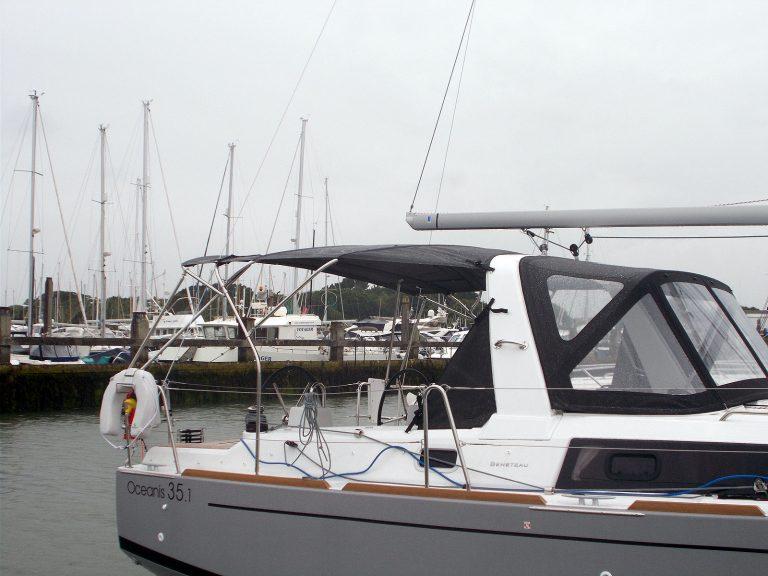 Beneteau Oceanis 35 and 35.1 Bimini